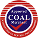 We are an approved coal merchant